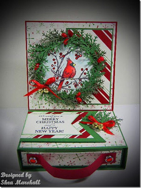Cardinal wreath 1
