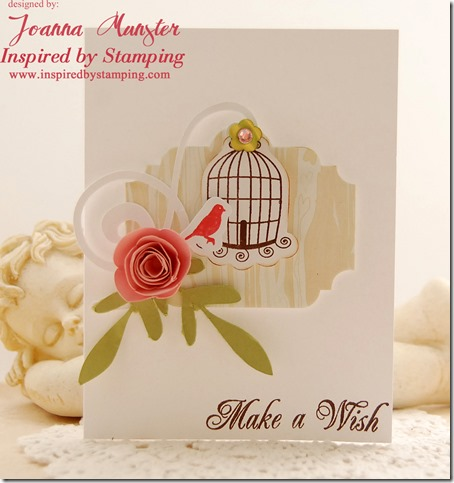 Inspired by Stamping Big Wishes