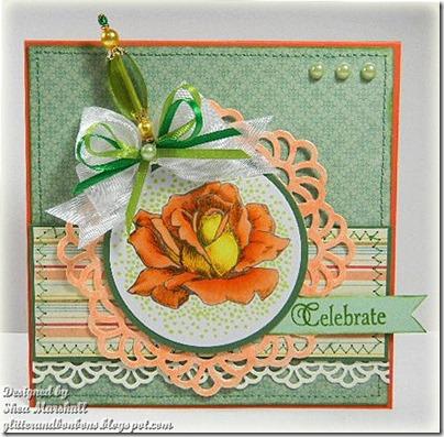 Orange Rose 1