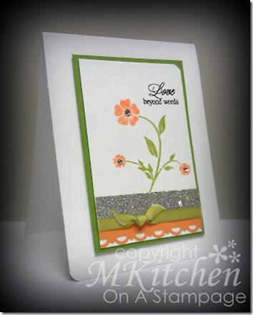 Inspired Orange card